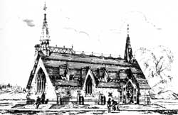 Scott's Drawing of St Barts